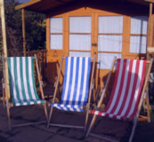 Deckchairs for Party Hire